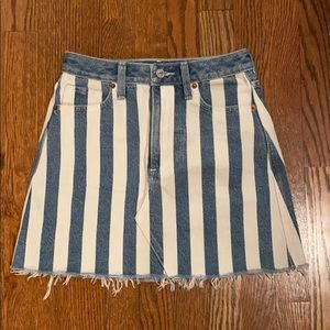 NWOT Abercrombie and Fitch Denim Skirt